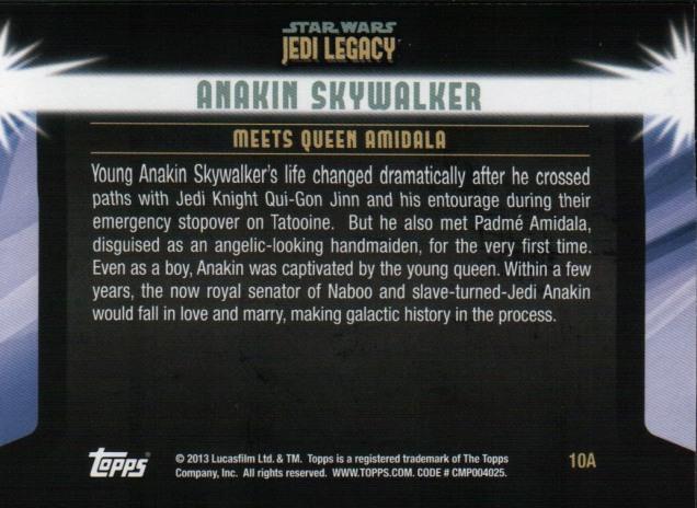 Jedi Legacy 10A back